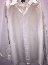 Joseph & Feiss Long Sleeve Button Dress Shirt 18 34/35
