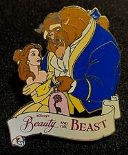 Retired 2002 Disneyland Beauty & The Beast Dvd Premiere Gift With Purchase Pin