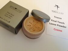 Sebastian Trucco Final Touch loose powder - Creme - NEW and BOXed