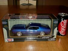 1971 Ford Mustang Sportsroof, Motor Max Diecast Metal Factory Built Toy, 1:24