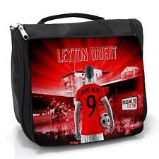 LEYTON ORIENT FOOTBALL Lavage Sac homme de voyage toilettage Case * Personnalisé * AF74