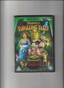 DVD Animated Film SHREK'S THRILLING TALES - Mike Myers, Eddie Murphy (Region 2)