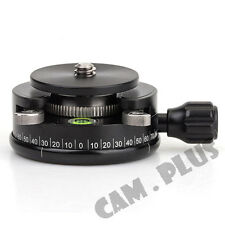 "Beefoto BF-422 360 Rotate 1/4"" 40mm Mini Tripod Head With Quick Release Plate"