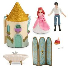 NEW Disney Store The Little Mermaid Princess ARIEL Mini Castle Play Set NIB