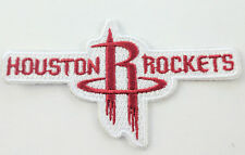 """Houston Rockets Logo Iron On Patch 3 1/2"""" x 2"""" Free Shipping by Envelope Mail"""