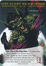 ZOMBIE GREEN GOBLIN 2015 UD Marvel Legendary SP MASTERMIND TACTIC HUNGARY DEAD