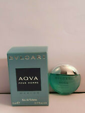 Bvlgari Aqva pour homme Marine EDT 5ml boxed miniature - new & original