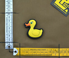 """PVC / Rubber Patch """"My Duck"""" with VELCRO® brand hook"""