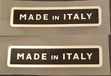 "1 Pair Made in Italy /""Campione Italiano/"" Decals sku Gran302"