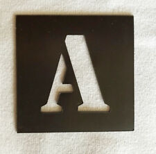 MAGNETIC Alphabet Letter Stencil Individual A - Z 40mm up to 200mm - Free Post
