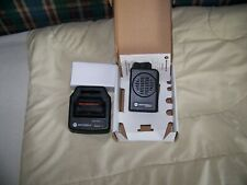 Motorola Minitor 5 V Vhf Pager 151~159 2 Channel Sv W/Charger. New