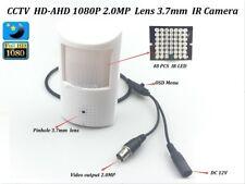 Cctv Hd-Ahd 2.0Mp 1080P Lens 3.7mm Ir-Cut Pir Hidden Detecto Spy Ir Ahd Camera