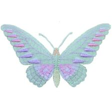 """Moth Butterfly Applique Patch - Insect, Wings, Antennae 4"""" (Iron on)"""