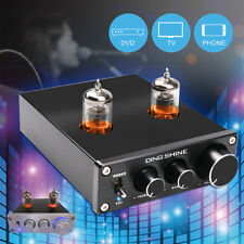 Audio Mini HiFi Buffer Preamp 6J1 Valve & Vacuum Tube Pre-Amplifier Stereo 12V