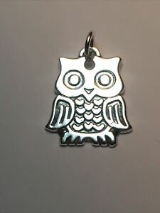 JAMES AVERY STERLING SILVER OWL CHARM