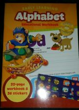 Early Learning Alphabet Educational Workbook