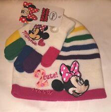 Minnie Mütze und Handschuh Größe 54