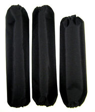Shock Covers Yamaha Raptor 350 660 700 700R Black ATV Set of 3