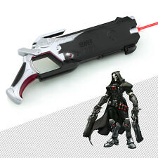 Hot Blizzard Game Overwatch Reaper gun with Infrared Ninjia Genji 14cm black