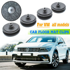 4pcs Floor Mat Clips Carpet Fixing Clamps Retainers Fastener For VW All Models