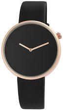 Große Damenuhr Uhr Damen Armbanduhr Modisch 40mm Watch schwarz Black Band watch