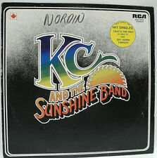 KC AND THE SUNSHINE BAND - 1975 VG+ GRADED CANADA VINYL LP RELEASE