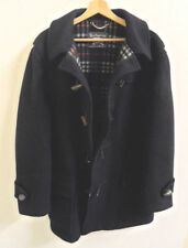 Mens Burberry Duffle Coat 100% Wool Coat  Size XXL Original  : J795