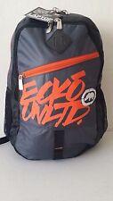 "NWT ECKO UNLTD ROYAL Backpack Gray Orange 17.5""x13.5""x 9"" Laptop Sleeve Book Ba"