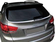 Accesorio para Hyundai ix35 TRASERO Cristal Cromo Listones parabrisas REBORDE