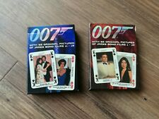 James Bond 007 Playing Cards Carta Mundi Classic Early Bond Pics New Sealed Deck