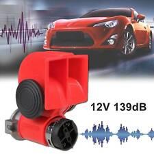 Auto LKW PKW Druckluft Horn Fanfare Hupe Kompressor Nebel horn 2 Klang 12v 139DB