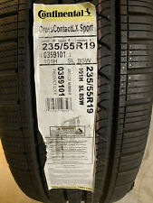 1 New 235 55 19 Continental Cross Contact LX Sport Tire