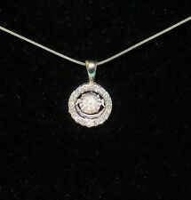 14k White Gold 1/2 tcw Diamonds In Rhythm Pendant ~ Kay Jewelers