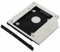 2nd SATA Hard Drive HDD SSD Caddy for DELL Inspiron 17 7737 5748 5749 I5759-4129