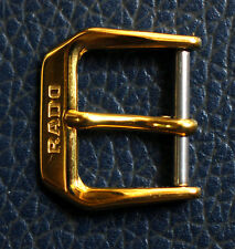 Vintage RADO GOLD PLATED 14mm BUCKLE FREE SHIPPING