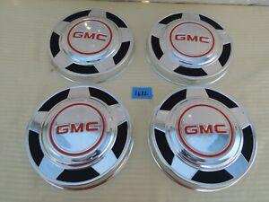 1973-1987 GMC C15 Suburban C1500 K15 K1500 Suburban  1/2 TON  HUB CAPS OEM