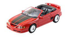 NewRay 1:43 Diecast 1994 Ford Mustang GT Convertible in Red - All American City