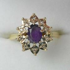 Amethyst Yellow Gold Victorian Fine Jewellery