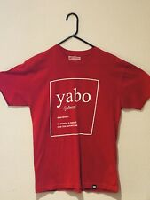 Routine Baseball Yabo T-shirt Tee Men's Size Large Red