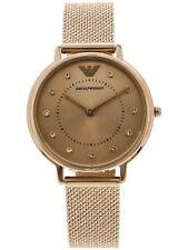 Emporio Armani Women's Analog Rhinestone Fashion Watch