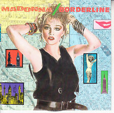 "MADONNA  Borderline PICTURE SLEEVE 7"" 45 rpm record NEW + juke box title strip"