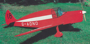 Giant 1/4 Scale DeHavilland TK.2 Plans, Templates and Instructions 95ws
