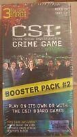 CSI Crime Scene Investigation Game Booster Pack #2 Brand NEW Sealed 2005 CBS