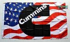 Cummins Banner Flag 3x5ft Diesel Power Engine banner