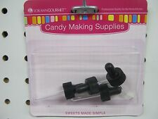 Lorann Droppers Threaded for 1 dram glass bottles pack of 4 new candy supplies