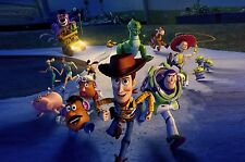 Toy Story 30X20 Inch Canvas - Pixar Framed Picture Print