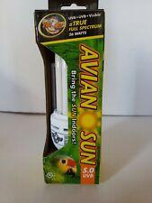 New listing Zoo Med Avian Sun 5.0 Uvb Compact Fluorescent 26 Watt