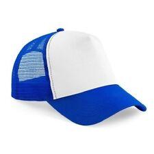 Cappelli da uomo visiera blu in poliestere