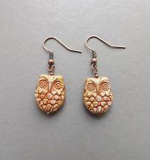 Handmade Glass Copper Costume Earrings