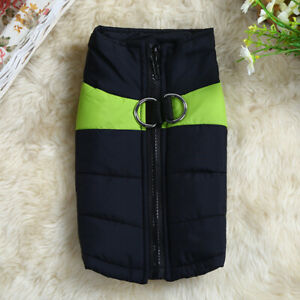 Warm Coat Winter Vest Cloth Pet Puppy Soft Clothes Protector Outfits Costume